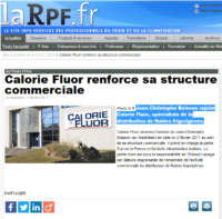 Calorie Fluor renforce sa structure commerciale